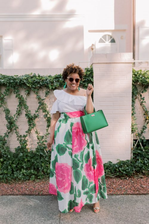 OOTD:  Pink and Green Machine!