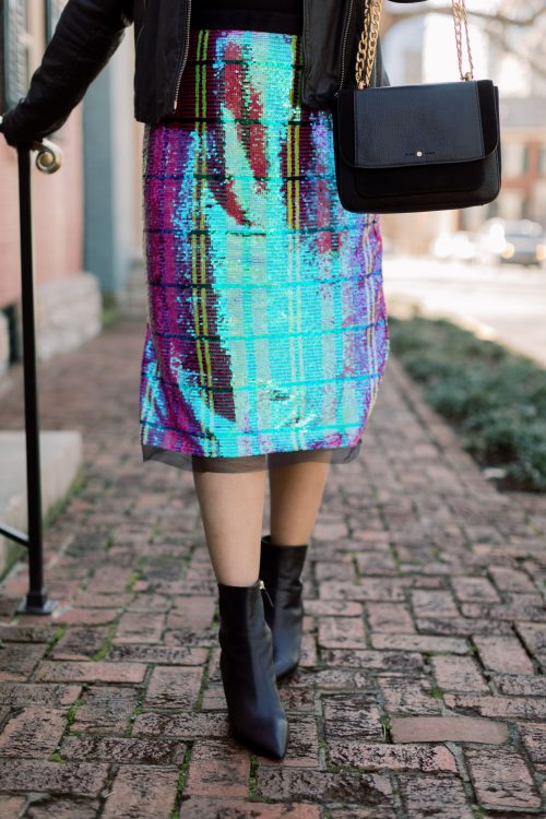 Sequin Skirts Saturdays!