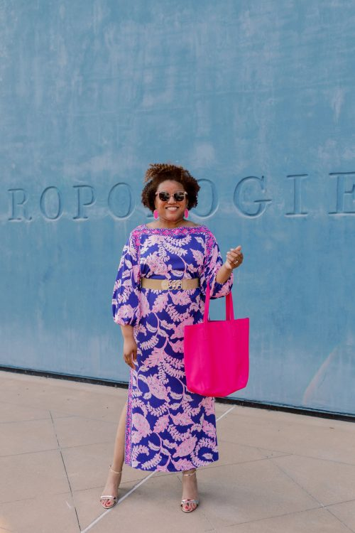 Weekend Style:  How to Wear a Lilly Pulitzer Maxi Dress!