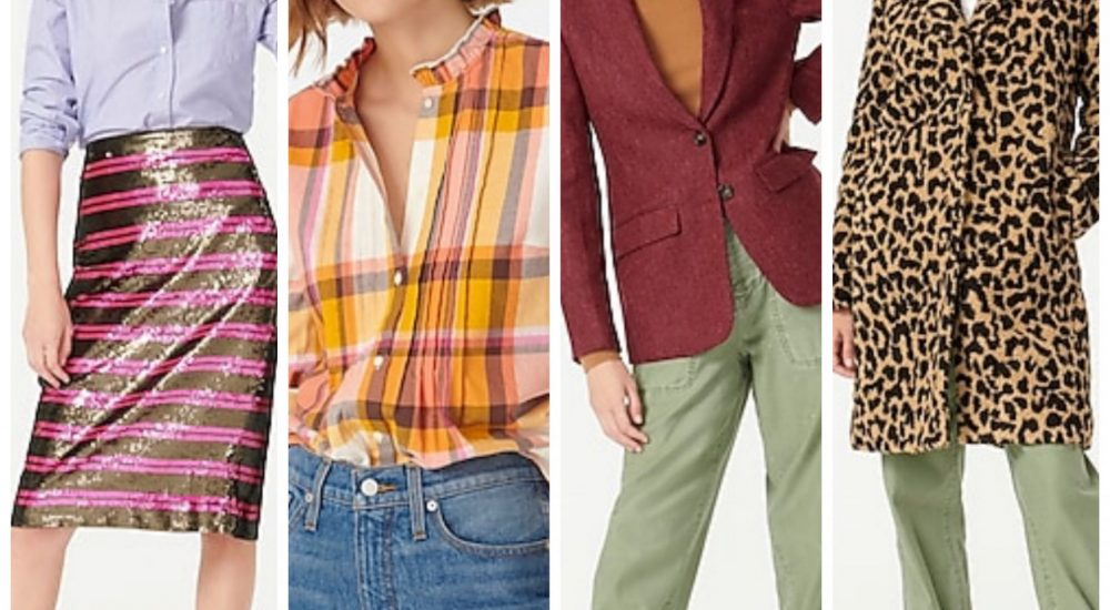 J. Crew New Arrivals:  Top 10 Favorites for Women!