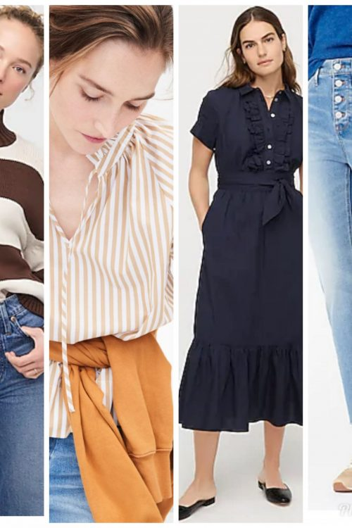 J. Crew New Arrivals:  Top Ten (and more) Favorites for Women!