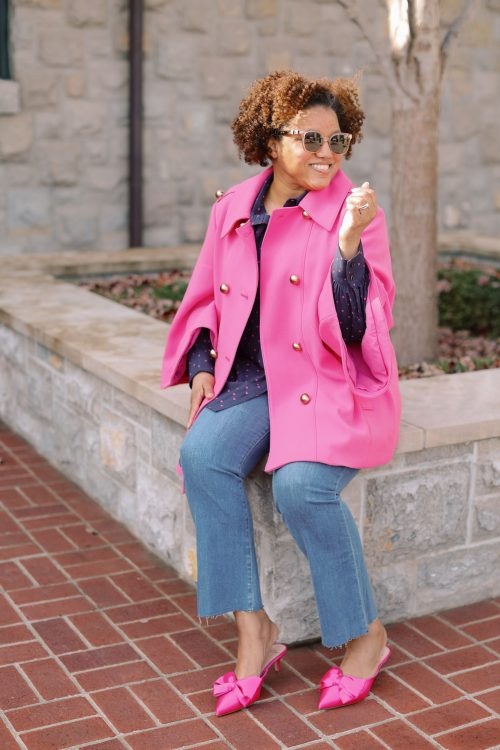 Weekend Style:  Pops of Pink!