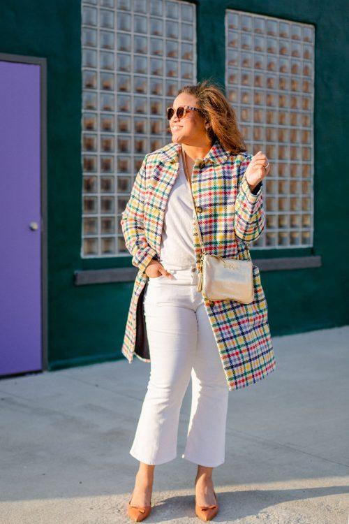 Colorful Coats and Sarah Flint Shoes!