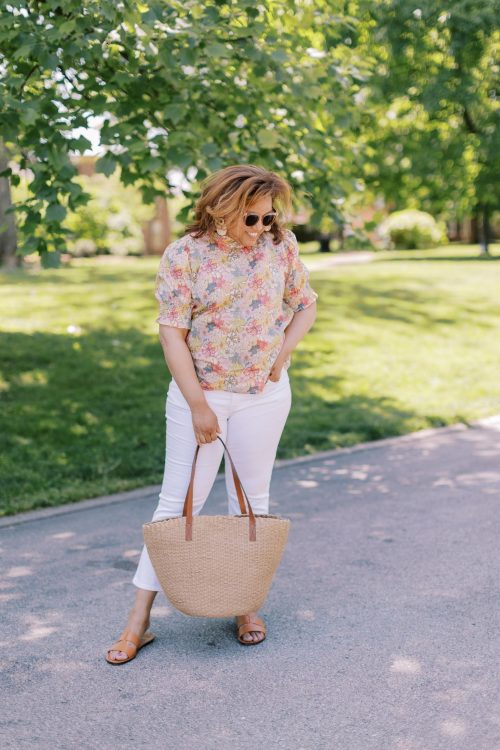 Fun Floral Tops for Summer!