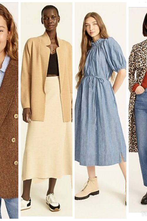 New Arrivals at J. Crew:  Top Ten Favorites (and more) for Women!